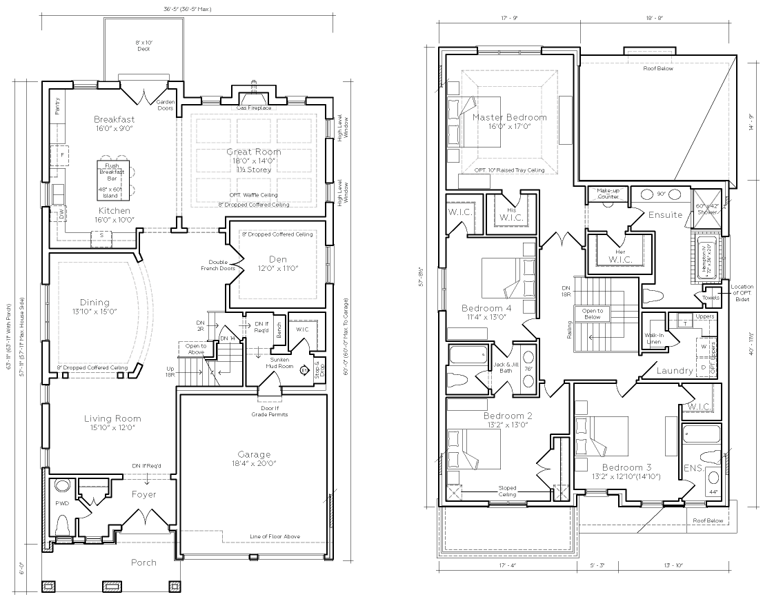 Floor Plan for Majestic Estate, a premium Estate Home at Crown Collection