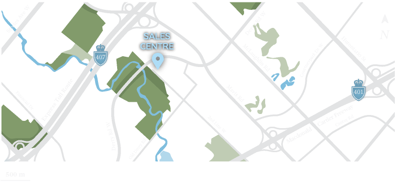 The location of the sales centre for the Crown Collection
